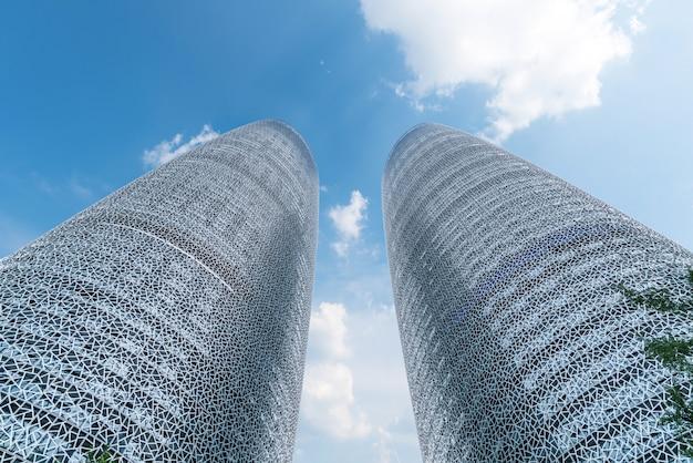 Skyscrapers in chengdu, china