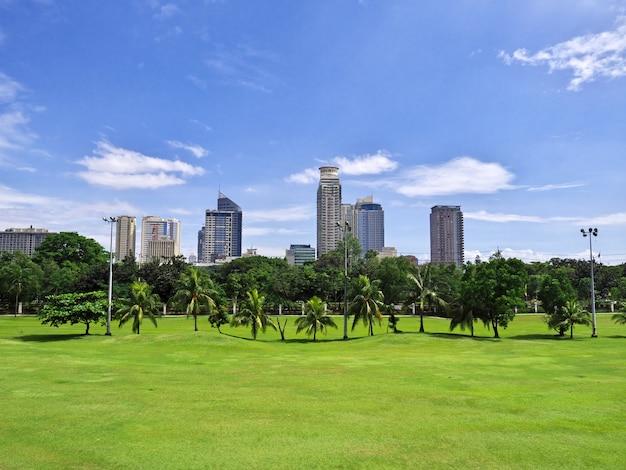 필리핀 마닐라 시의 고층 빌딩