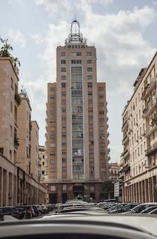 Skyscrapers in palermo central avenue