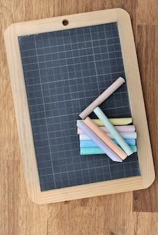 Slate and chalks
