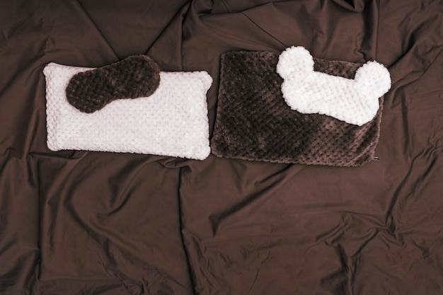 Sleep mask and cushion for comfort rest