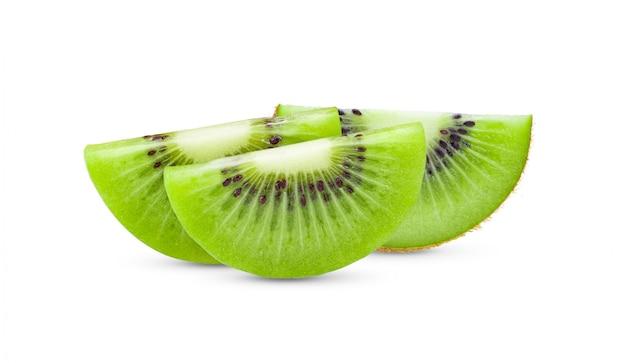Slice kiwi fruit
