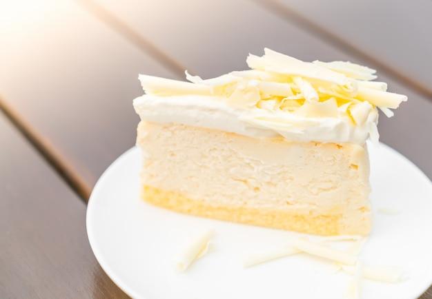 チーズケーキのスライス