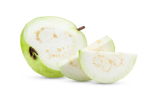 グアバ果実のスライス。