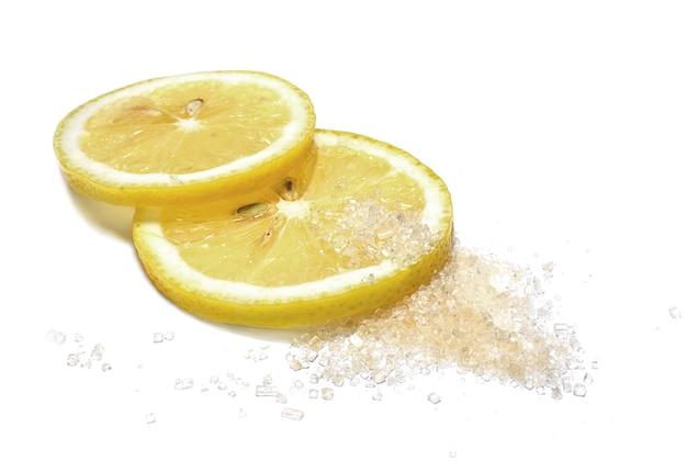 砂糖入りレモンのスライス