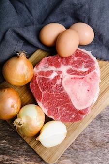 Ломтик мяса
