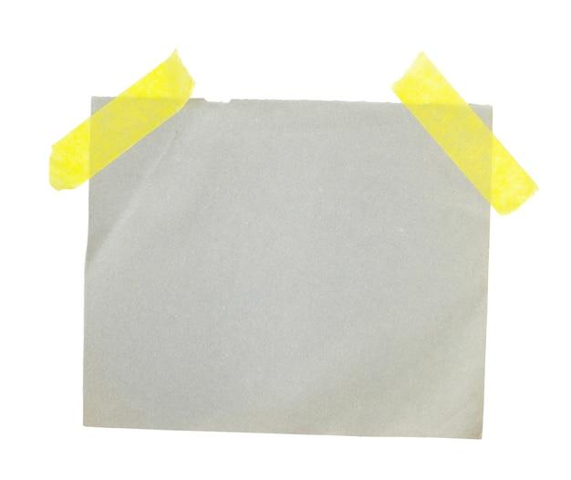 白い背景で隔離の紙のスライス