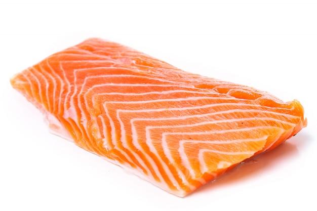 Ломтик сырого лосося Бесплатные Фотографии