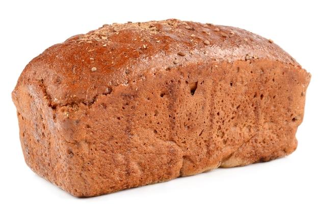 スライスされたâ€‹â€‹パンは白で分離