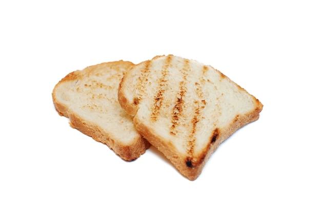 白のスライスされたパントースター