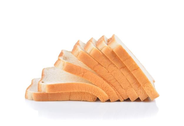 흰색 절연 빵 조각