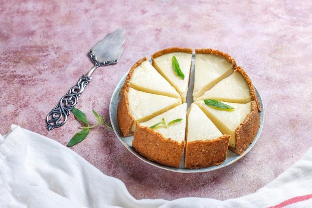 집에서 만든 뉴욕 치즈 케이크, 평면도