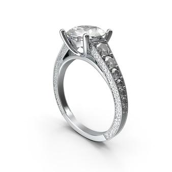 Sliver ring for valentines day