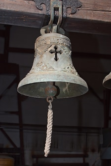Slotted cast iron bell