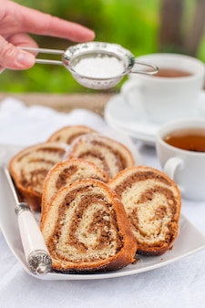 Slovenian walnut roll