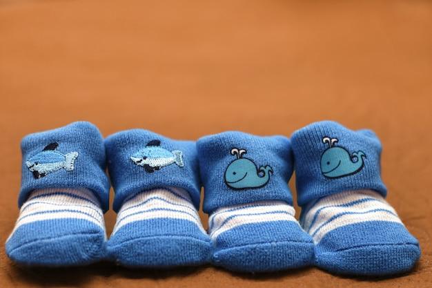 Small baby socks