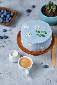Маленький торт бенто для любимой мамы. торты в корейском стиле в коробке на одного человека. милый десертный подарок любимому человеку.