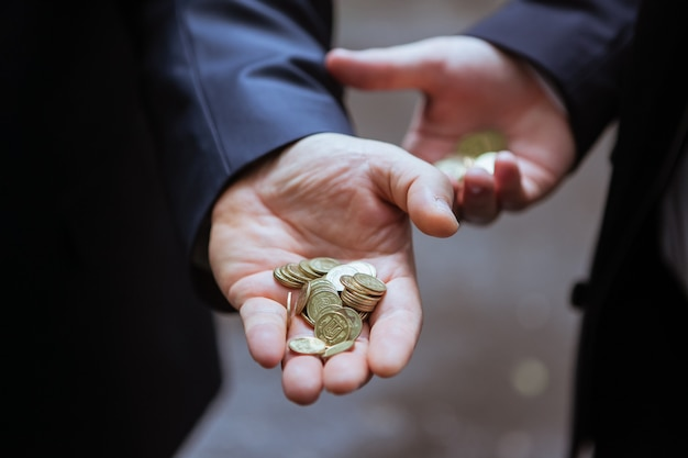 Small change in the hands of men