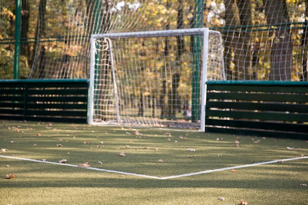 Small football field