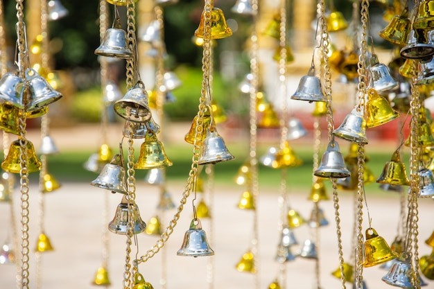 Small gold and silver bell