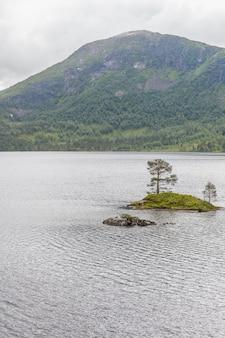 Небольшие острова в норвежских фьордах