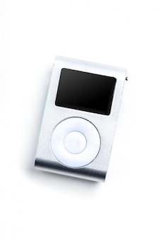 Small mp3 player isolated