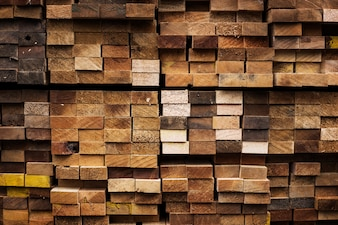 Small pile of wood background