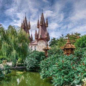 ブルガリア、ラヴァディーノヴォ城の小さな池
