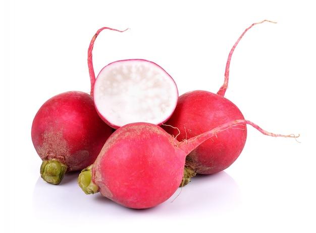 Small radish isolated