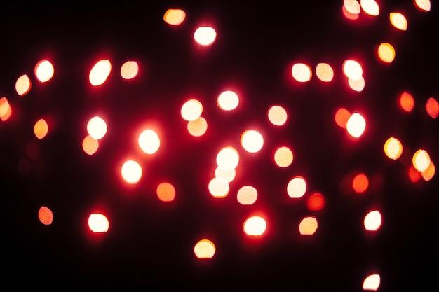 小さな赤いライト