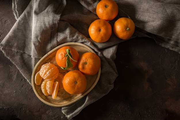 Small tangerines ecological
