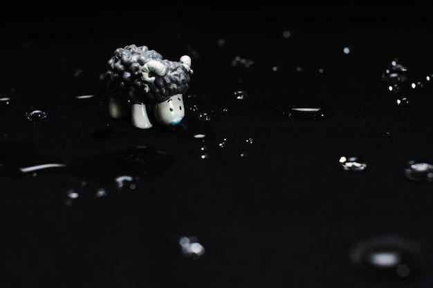 Small toy lamb