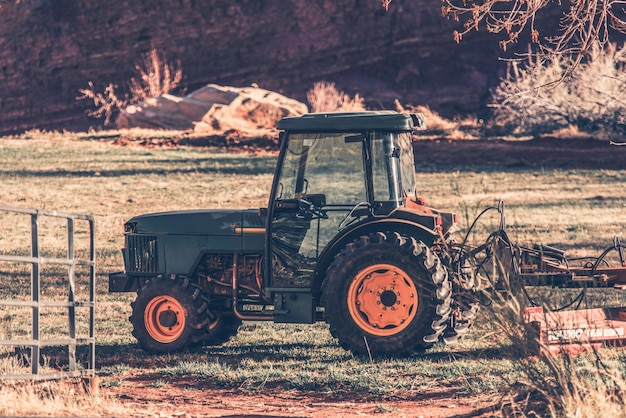 Малый трактор