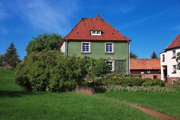 The small village ib moritzburg in germany, saxony