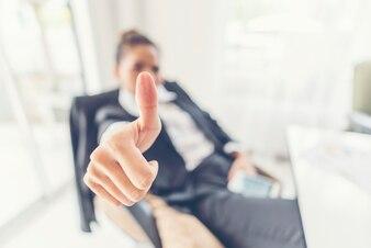 Smart business success concept