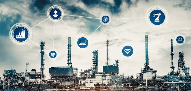 Smart factory for the fourth industrial revolution