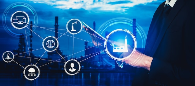 Smart factory for fourth industrial revolution