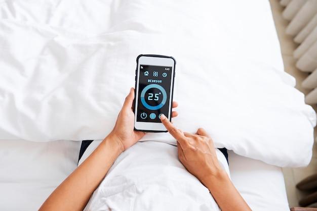집에서 스마트 홈 온도 시스템