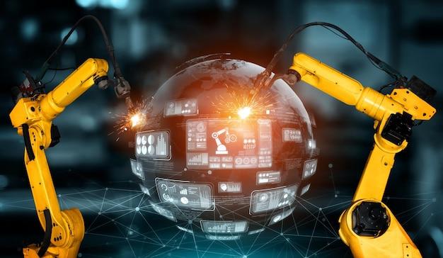 Интеллектуальные промышленные роботы-манипуляторы для технологии производства цифровых заводов