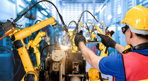 디지털 공장 생산 기술을위한 스마트 산업용 로봇 암