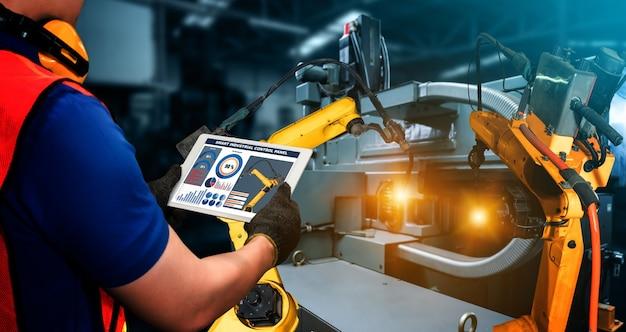 Умные промышленные роботы-манипуляторы в цифровом заводском производстве