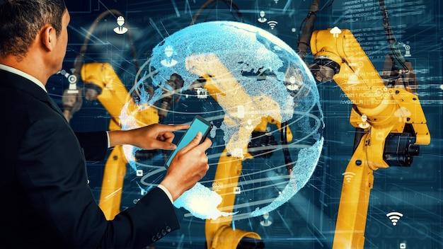 Модернизация интеллектуального промышленного робота-манипулятора для технологий цифрового производства