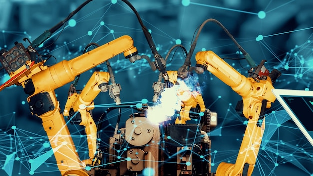 Модернизация интеллектуального промышленного робота-манипулятора для инновационных заводских технологий