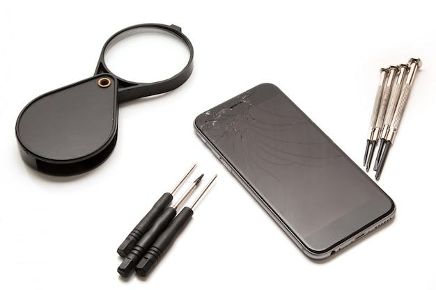 Smart phone and tools for repair
