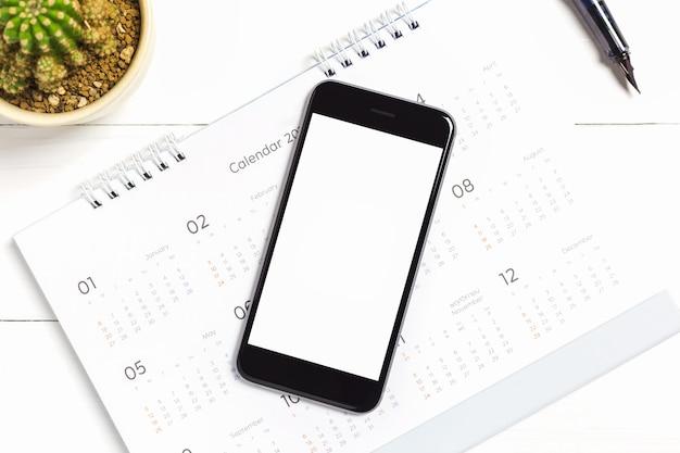 Smart phone white screen for mockup