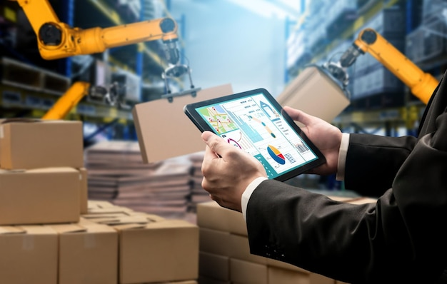 Интеллектуальные системы роботизированных манипуляторов для инновационных складских и производственных цифровых технологий