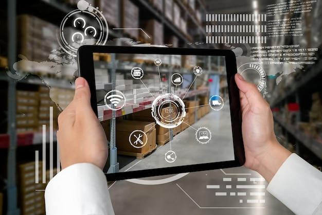 Smart warehouse management system using augmented reality technology