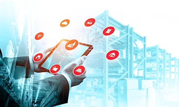 Smart warehouse management system with innovative internet of things technology