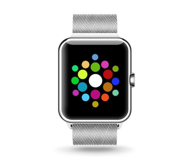 Smart watch menu screen