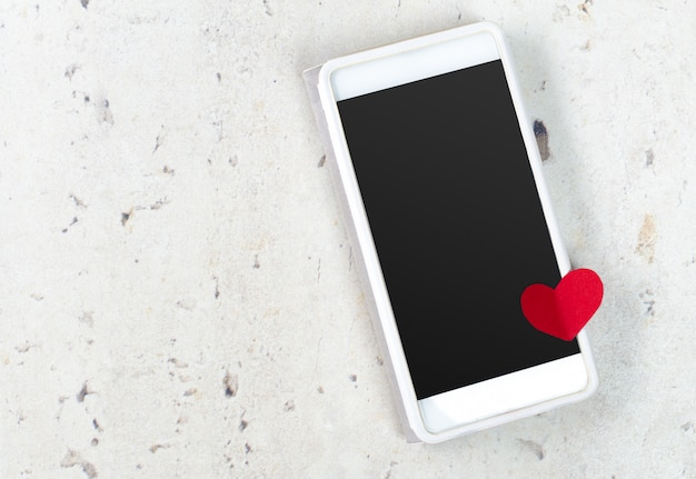 Smartphone and heart